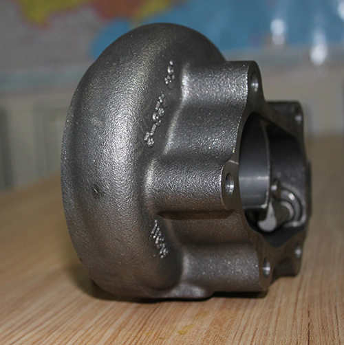 Turbocharger casting iron turbine housing
