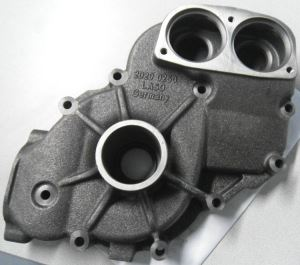 iron or steel sand casting crankcase