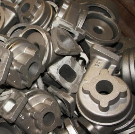 China customized steel casting pump parts, pump housing