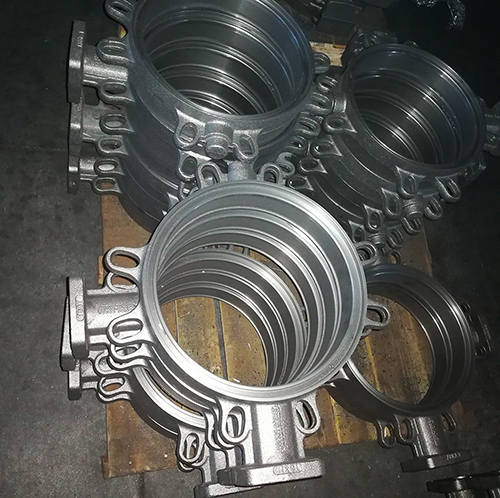 Ductile Iron Butterfly Valve Body
