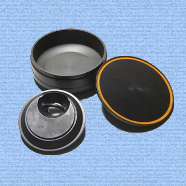 pulverizer grinding bowl, puck and lid